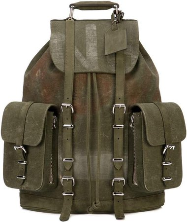 Readymade distressed back pack