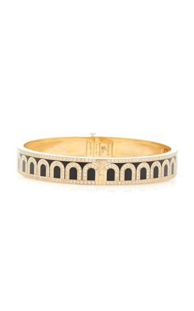L'Arc 18K Gold And Diamond Bracelet by DAVIDOR | Moda Operandi