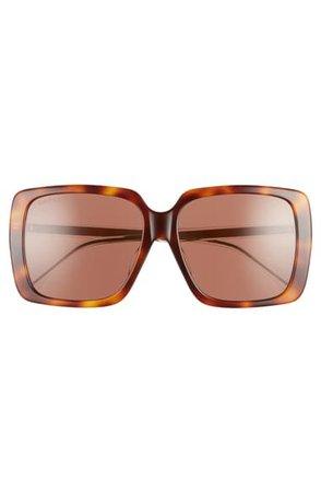 Gucci 58mm Square Sunglasses   Nordstrom