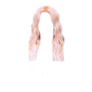 Blonde/Pink Hair PNG WAVY [SANA Hair]