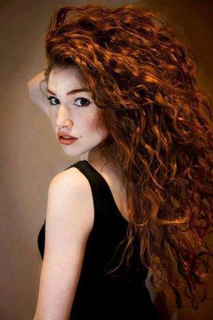 curly red hair - Pesquisa Google
