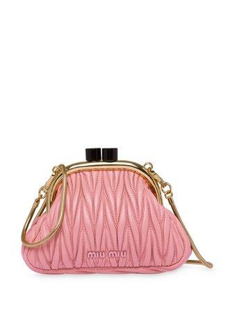 1 Miu Miu Belle Nappa Mini Bag - Farfetch