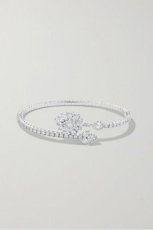 White gold 18-karat white gold diamond bracelet | YEPREM | NET-A-PORTER