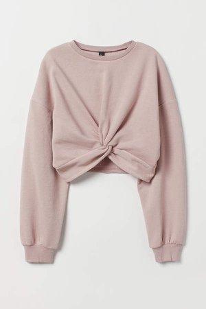 Tie-detail Top - Pink