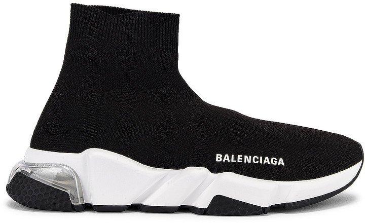 Speed Sneakers in Black & Clear | FWRD