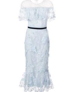 Off-Shoulder Cocktail Dress – Marchesa