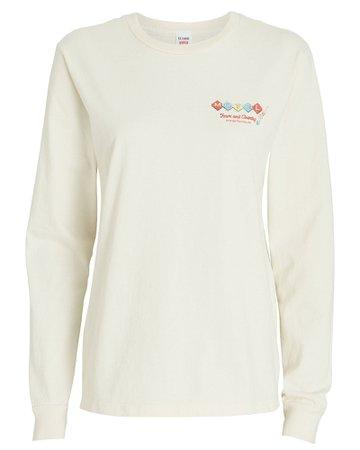 RE/DONE Motel Graphic Cotton T-Shirt | INTERMIX®