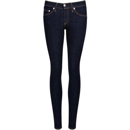 Womens Skinny Jeans Rag & Bone /JEAN Heritage Dark Blue Skinny Jeans