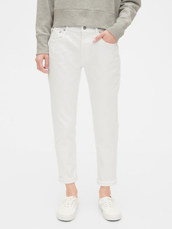 Mid Rise Girlfriend Jeans | Gap