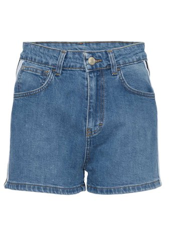 Gcds High Waisted Denim Shorts