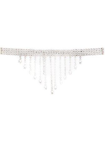 Alessandra Rich Embellished Belt - Farfetch