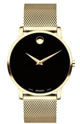 Museum Mesh Bracelet Watch, 40mm