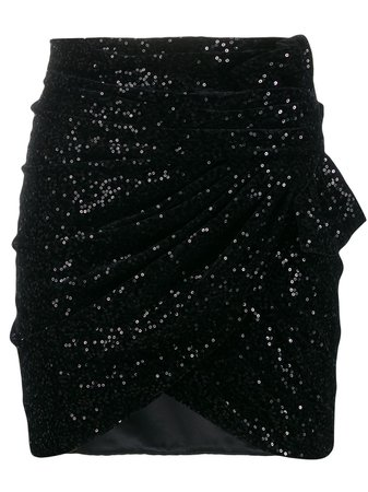 Saint Laurent, Sequinned Mini Skirt
