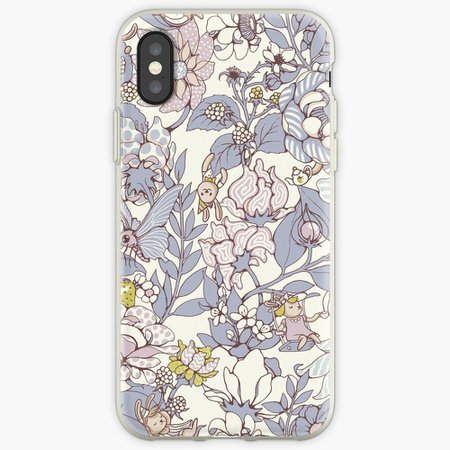 """""""The Garden Party - jasmine tea version"""" iPhone Case & Cover by celandinestern   Redbubble"""