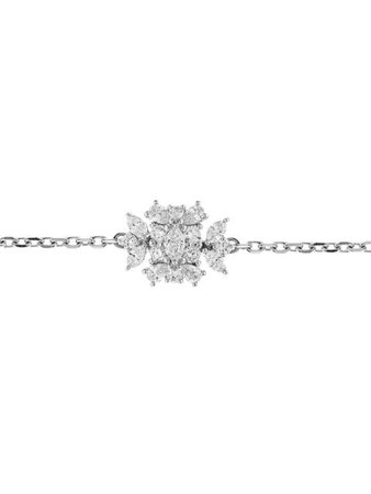 Shop silver Yeprem 18kt white gold square diamond pendant choker necklace with Express Delivery - Farfetch