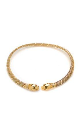 One Of A Kind Cartier Panthère De Cartier Collar Necklace By Eleuteri | Moda Operandi