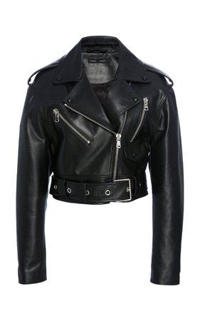Waxy Leather Biker Jacket by Proenza Schouler | Moda Operandi