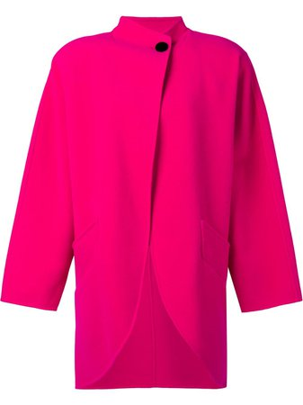 Pink Marc Jacobs Cocoon Coat | Farfetch.com