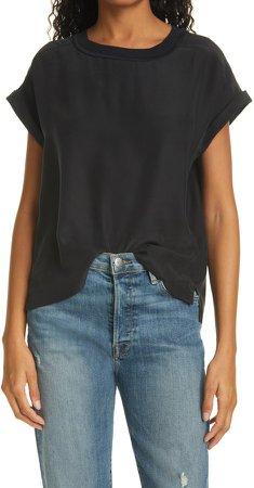 Oversize Silk T-Shirt