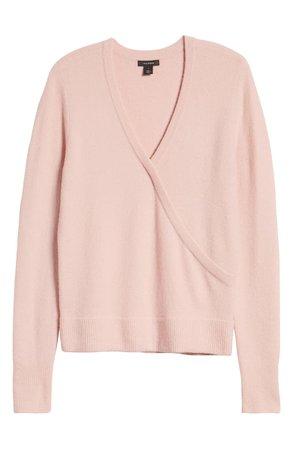 Halogen® Surplice Sweater | Nordstrom