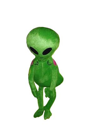 green alien png