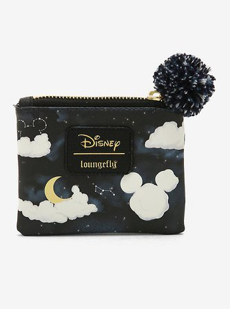 Loungefly Disney Mickey Mouse Clouds Coin Purse - BoxLunch Exclusive