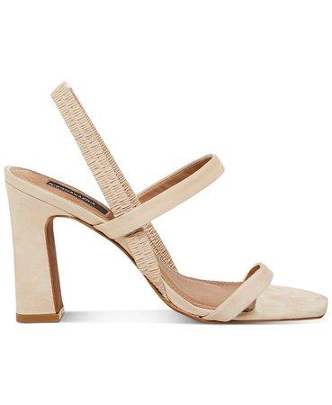 BCBGMAXAZRIA Esther Strappy Dress Sandals & Reviews - Sandals - Shoes - Macy's