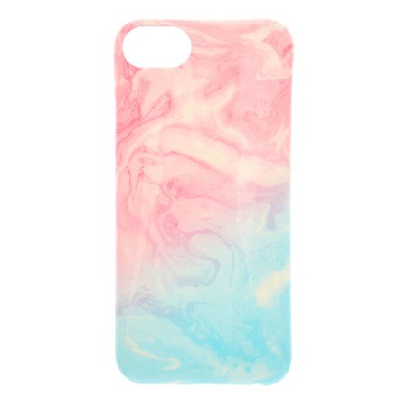 Pastel Marble Swirl Phone Case | Claire's US