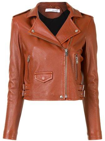 IRO Ashville Leather Biker Jacket - Farfetch
