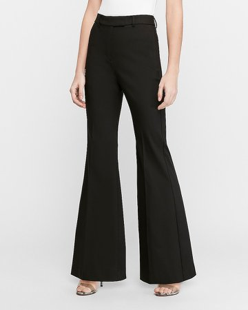 Super High Waisted Flare Pant