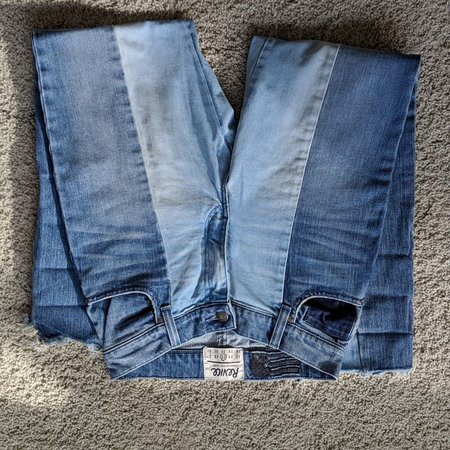 Great pair of Revice two tone Lolita jeans. I bought... - Depop
