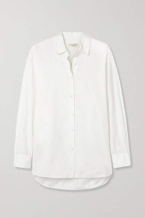 Yorke Cotton Shirt - White