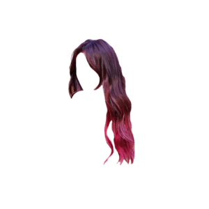 Black Brown and Red Hair PNG