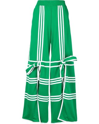 Spectacular Sales for Adidas flared track pants - Green