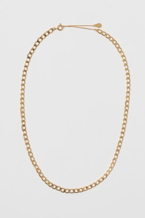 Gold-plated Necklace - Gold