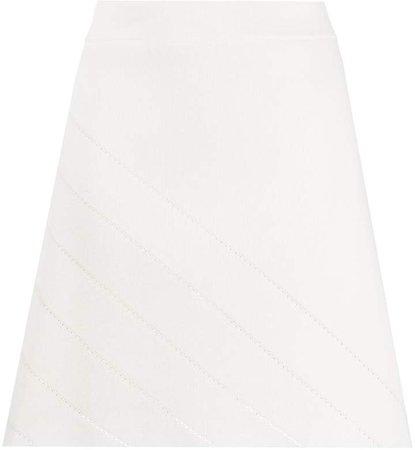 Stretch Knit Mini Skirt