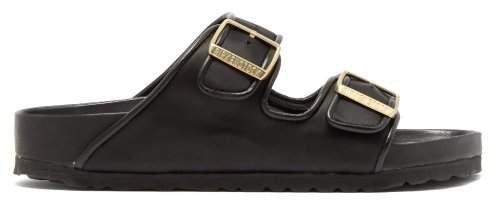 X Il Dolce Far Niente - Arizona Fullex Satin Sandals - Womens - Black