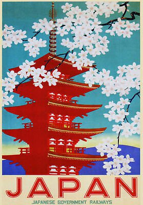 japanese government railways poster - Google Search