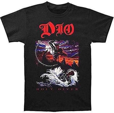 Amazon.com: Dio Holy Diver Men's Black T-Shirt: Clothing