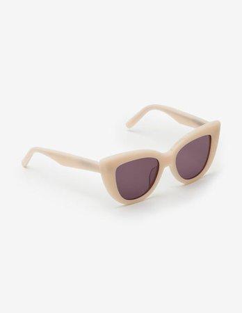 Valencia Sunglasses - Pearl | Boden US