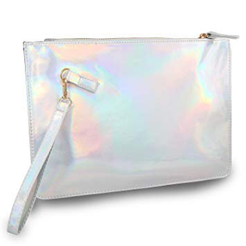 silver purses holographic - Google Search