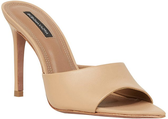 Dana Leather Slide Sandal