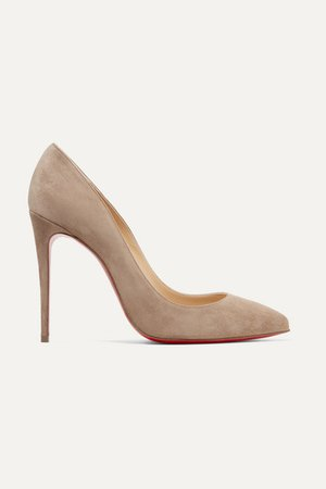 Christian Louboutin | Pigalle Follies 100 suede pumps | NET-A-PORTER.COM