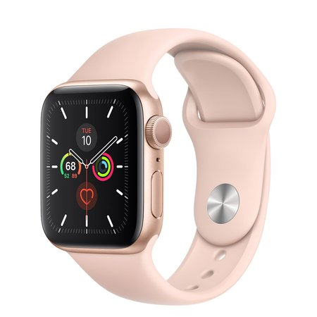 Gold Aluminum Case with Sport Band - Apple