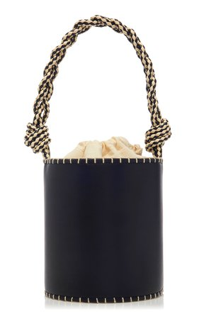 Small Nia Leather Bucket Bag by Ulla Johnson | Moda Operandi