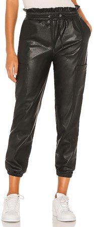 x REVOLVE Rou Vegan Leather Pant