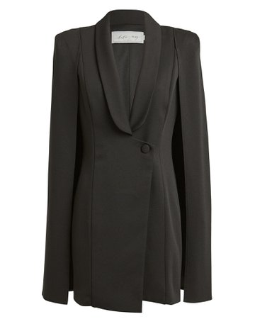 Katie May | Boss Lady Cape Dress | INTERMIX®
