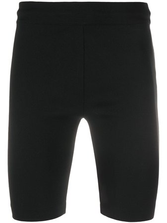 Acne Studios Stretch Cycling Shorts BE0048 Black   Farfetch