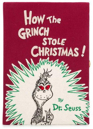 Olympia Le Tan The Grinch book clutch