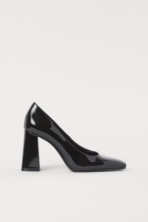 Patent Pumps - Black - Ladies | H&M US